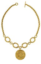 Annabelle Lucilla Jewellery Night's Sky Medallion Chain Necklace