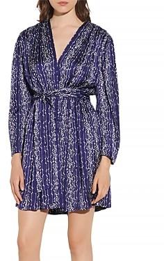 Sandro Angel Short Printed Dress
