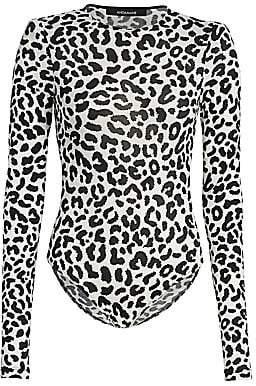 Bea Yuk Mui Andamane Women's Leopard-Print Bodysuit