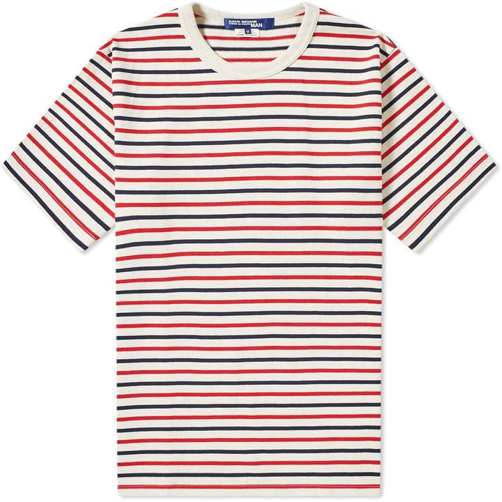 fc3c3c319b Red Stripe Navy T-shirt Men - ShopStyle