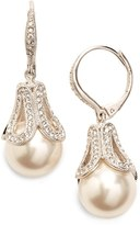 Nadri Women's Faux Pearl Drop Earrings