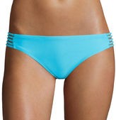 Arizona Watch Me Multi-Strap Hipster Swim Bottoms - Juniors
