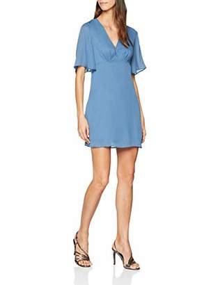 Glamorous Women's Mini Dress (Blue Shimmer Bs), 8 (Size:XS)