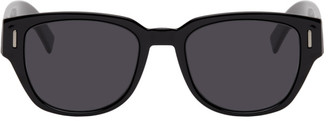 Christian Dior Black DiorFraction3 Sunglasses