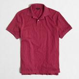 J.Crew Factory Textured cotton polo shirt