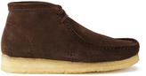 Clarks Originals Wallabee Boots Brown Suede
