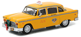 Disney Scrooged 1978 Checker Taxi Cab Car Figure
