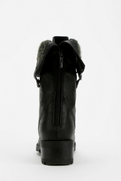 Urban Outfitters Wanted Recruit Fold-Over Combat Boot