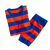 J.Crew Boys' short-sleeve sleep set in wide stripe