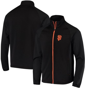 G Iii Men's G-III Sports by Carl Banks Black San Francisco Giants Strength Track Full-Zip Jacket