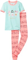 Petit Lem Ballerinas Pajama - 2-Piece Set (Toddler & Little Girls)