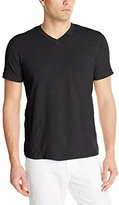 Mod-o-doc Men's Short Sleeve V-Neck Vintage Slub Jersey Tee