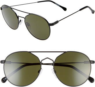 ELECTRIC Montauk 50mm Round Sunglasses