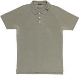 Denham Joey Raglan Sleeve Polo Shirt
