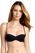 Cosabella black mesh 'Soire' demi cup bra