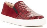 Via Spiga Maliah Croc Embossed Sneaker