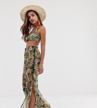 South Beach safari beach trousers in multi