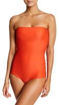 Mikoh Antigua Strapless One-Piece Swimsuit