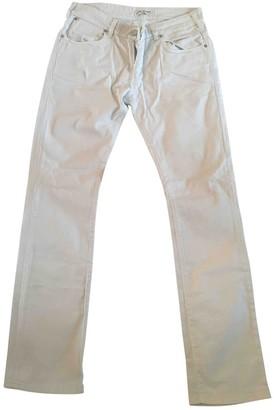 Karl Lagerfeld Paris White Cotton - elasthane Jeans for Women