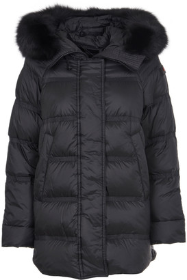 Peuterey Down Jacket With Fur