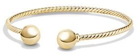 David Yurman Solari Bead Cuff Bracelet in 18K Gold