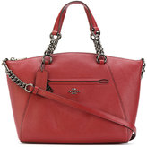 Coach pebbled Prairie satchel - women - Leather - One Size