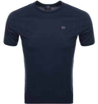 Paul & Shark Paul And Shark Short Sleeved Logo T Shirt Navy