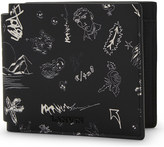 Lanvin Landscape Graffiti leather wallet