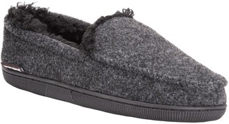 Muk Luks Men's Faux-Wool Moccasin Slippers
