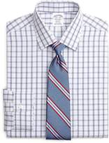 Brooks Brothers Non-Iron Regent Fit Twin Plaid Dress Shirt
