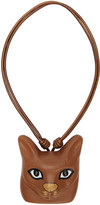 Loewe Brown Cat Face Necklace