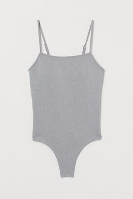 H&M Seamless Thong Bodysuit