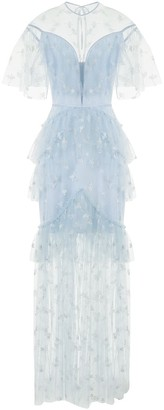 Alice McCall Moon Lover lace-overlay gown