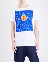 Vivienne Westwood Squiggle-print cotton-jersey T-shirt