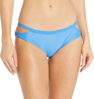 RVCA Women's Solid Medium Bikini Bottom