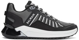 Balmain Grey B-Trail Sneakers