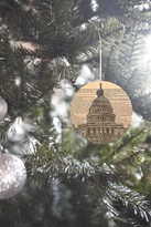 DENY Designs Darkislandcity Capitol Building on Dictionary Paper Ornament
