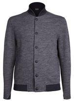 Giorgio Armani Bomber Sweater