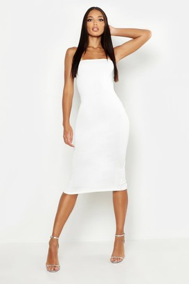 boohoo Bandeau Midi Dress