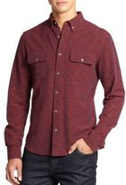 Madison Supply Space-Dyed Cotton Sportshirt