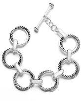 Lauren Ralph Lauren Twist Link Toggle Bracelet