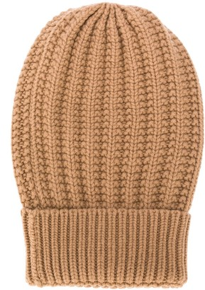 Eleventy Cable-Knit Beanie Hat