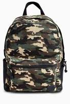 Next Boys Camouflage Backpack - Green
