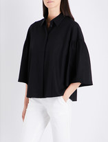 Co Bell sleeve cotton blouse