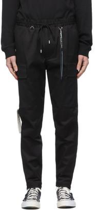 Mastermind Japan Black Zipped Cargo Pants