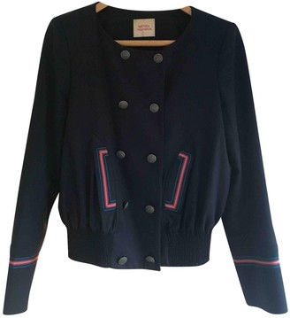 Matthew Williamson Blue Wool Jacket for Women