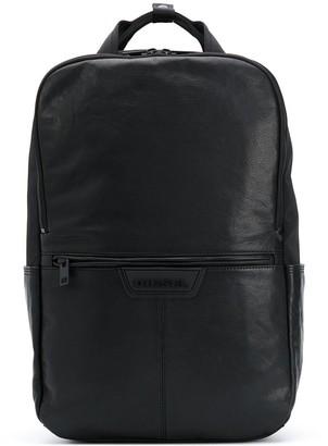 Diesel Rectangular Logo Backpack