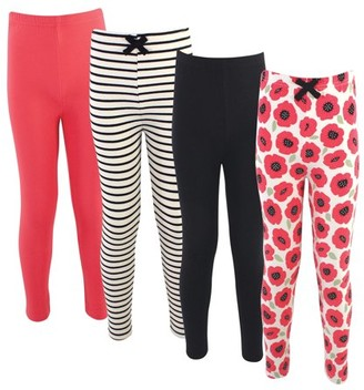 Touched by Nature Girls Organic Cotton Leggings, Sizes 6-10