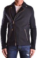 Balmain Men's Mcbi241009o Black Wool Jacket
