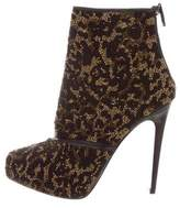 Barbara Bui Embellished Ankle Boots w/ Tags